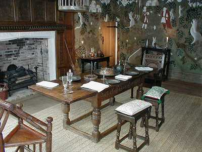 Dining Room on The Dining Room Copyright B J Taylor 2000 The Dining Room Fireplace